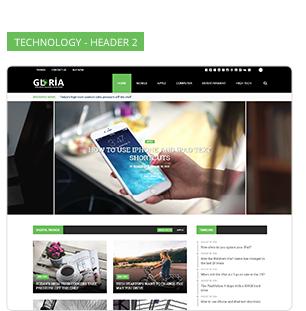 Download Gloria – Responsive eCommerce News Magazine Newspaper WordPress Theme nulled 11 6