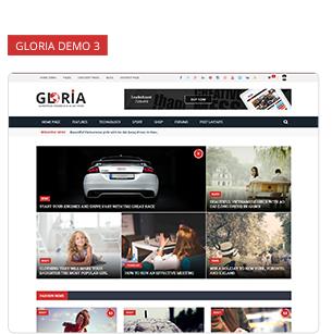 Download Gloria – Responsive eCommerce News Magazine Newspaper WordPress Theme nulled 8 3