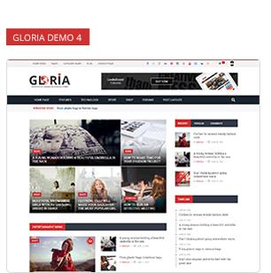 Download Gloria – Responsive eCommerce News Magazine Newspaper WordPress Theme nulled 8 4