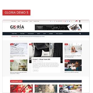 Download Gloria – Responsive eCommerce News Magazine Newspaper WordPress Theme nulled 8 5