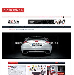 Download Gloria – Responsive eCommerce News Magazine Newspaper WordPress Theme nulled 8 6